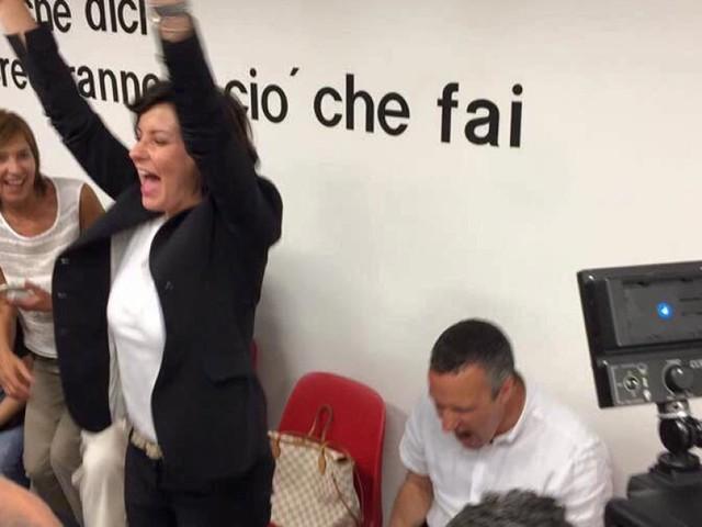 A Verona Patrizia Bisinella arriva al ballottaggio per 1200 voti. E ora confida nel sostegno del Pd