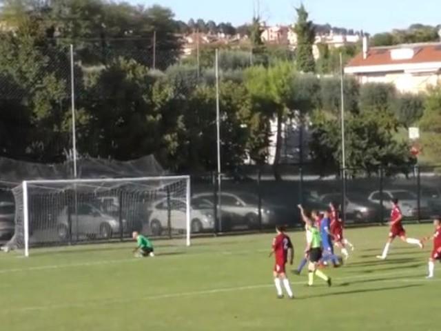 Campana regala i tre punti alla Maceratese: contro Real Atletico Centobuchi è 0-1 (VIDEO)
