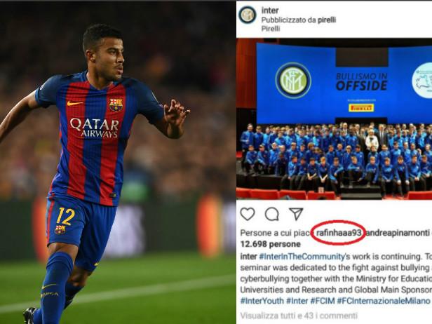 Rafinha, like all'Inter: ora si aspetta il Barça