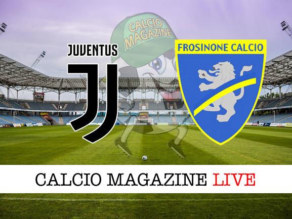 Juventus – Frosinone: cronaca diretta live, risultato in tempo reale