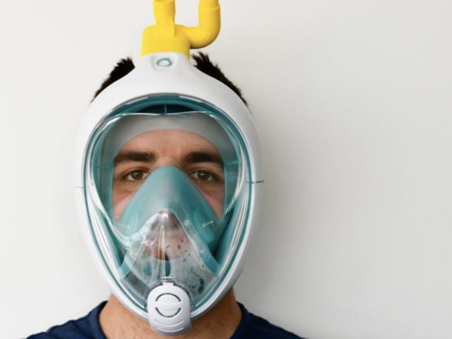 Maschere da sub di Decathlon trasformate in ventilatori ospedalieri