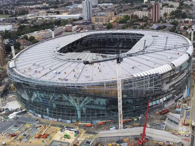 Nuovo stadio del Tottenham, niente inaugurazione prima della fine di ottobre 2018