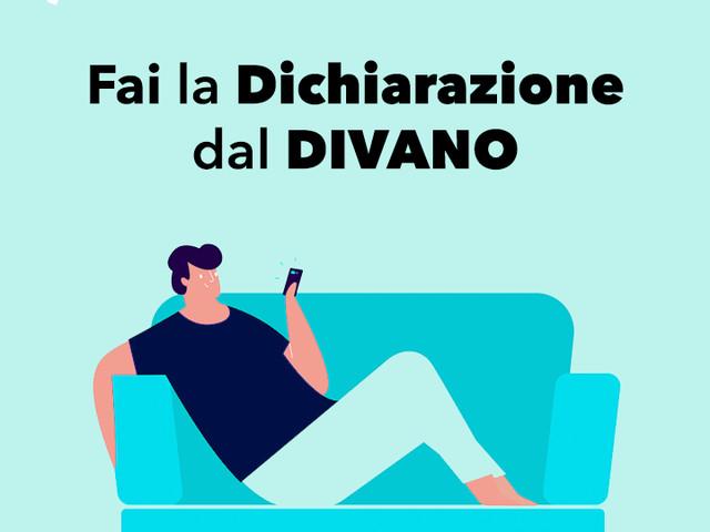 Italiani bloccati a casa: la dichiarazione dei redditi si fa via App