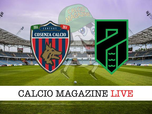 Serie B, Cosenza – Pordenone: diretta live, risultato in tempo reale