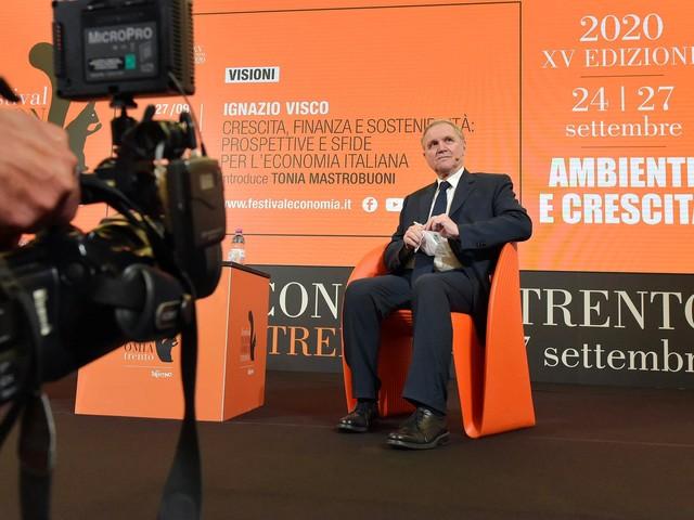 Ignazio Visco al Festival Economia Recovery Fund e Mes, grande occasione per sanare i punti deboli dell'Italia