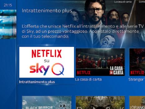 Netflix sbarca su Sky Q dopo l'accordo con Mediaset: è questa la risposta ad Amazon Prime e Disney+?