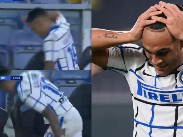 Inter, Conte sostituisce Lautaro: l'argentino prende a pugni la panchina (VIDEO)