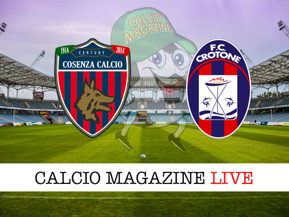 Serie B, Cosenza – Crotone 0-1: il tabellino