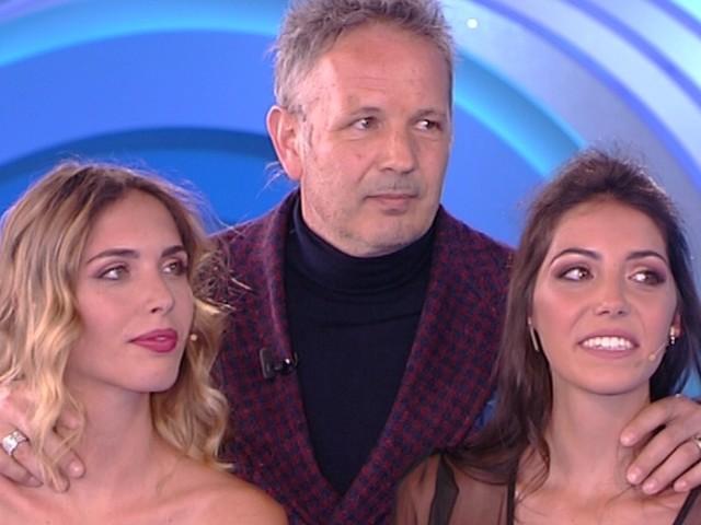 "Viktorija e Virginia Mihajlovic a Verissimo: ""Papà è un guerriero"""