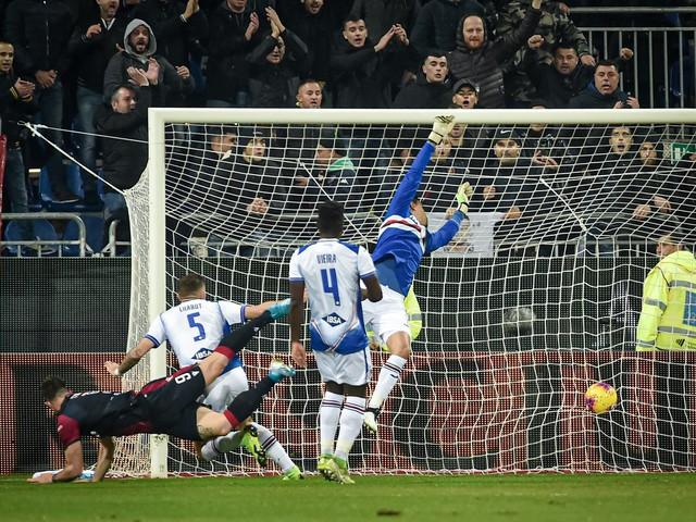 Successo bis contro la Sampdoria ed il Cagliari vola: Cerri-Ragatzu spingono Maran agli ottavi di Coppa Italia [FOTO]