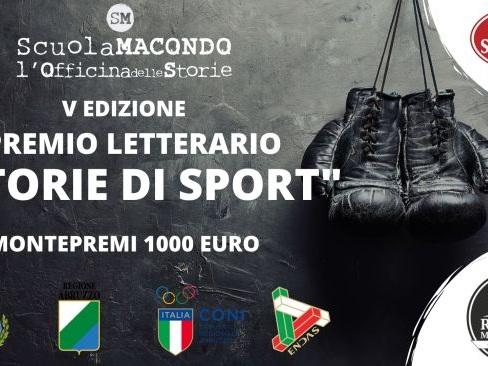 Prorogata la scadenza del bando del Premio Letterario Storie di Sport