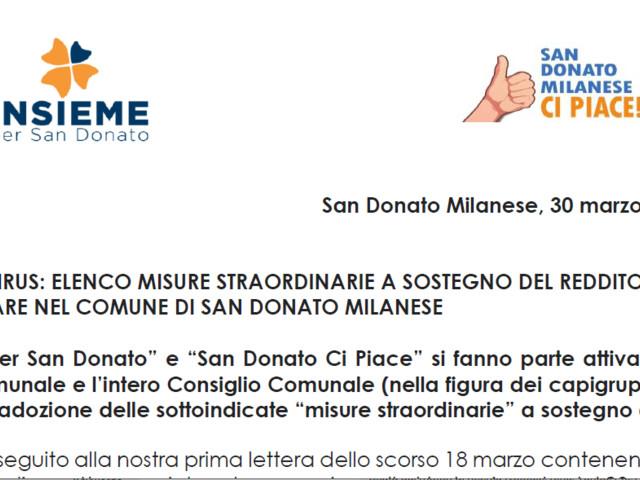 """""""Insieme per San Donato"""" e """"San Donato Ci Piace"""" chiedono una Commissione consiliare permanente e l'utilizzo del disavanzo di amministrazione"""