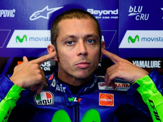 """Valentino Rossi: """"Domani parlo con la moto e vediamo"""""""