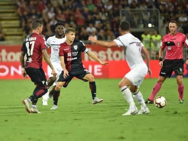 Il Milan sbatte sul Cagliari: finisce 1-1 alla Sardegna Arena