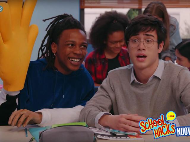 School Hacks trailer della nuova serie di Disney Channel