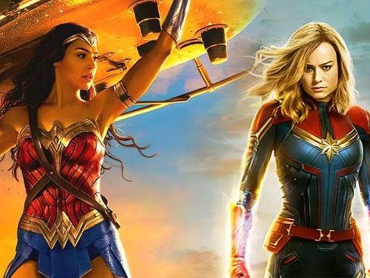 Wonder Woman contro Captain Marvel, eroine a confronto nello speciale video