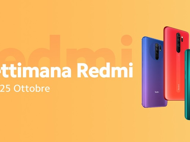 """Offerte Mi Store """"La settimana Redmi"""" 19-25 ottobre: super sconti per Xiaomi, Redmi e POCO"""