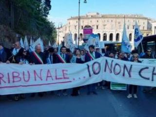 No alla chiusura del tribunale di Rossano, manifestazione di protesta stamattina a Roma