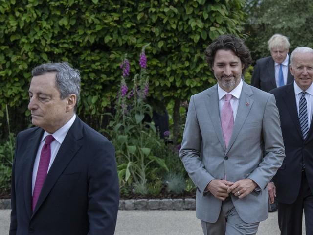 """G7, Draghi: """"Molto bene con Biden, europeismo e atlantismo nostri pilastri"""""""