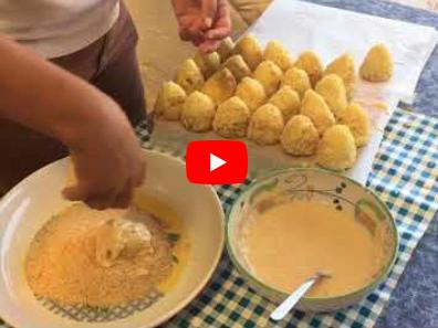 Il Gastronomo educato: Arancini al ragù. VIDEO RICETTA