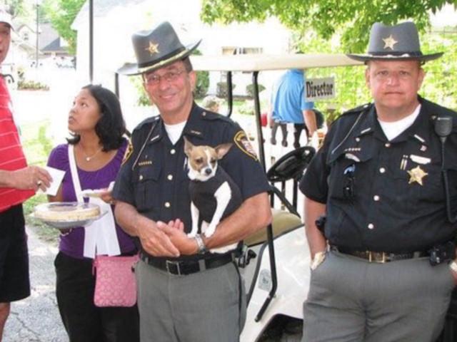 Usa, il cane poliziotto più piccolo del mondo e il suo padrone sceriffo muoiono a poche ore di distanza