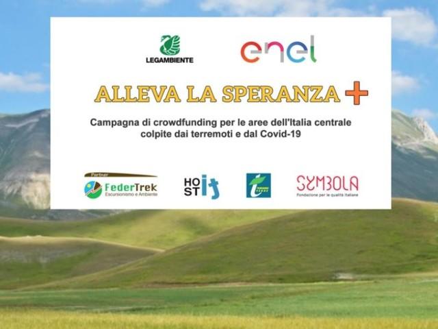Alleva la speranza + amplia il campo d'azione per sostenere l'economia dell'Italia centrale colpita dai terremoti del 2016 e 2017