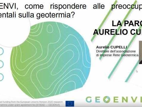 Geoenvi, come rispondere alle preoccupazioni ambientali sulla geotermia? La parola a Rete Geotermica