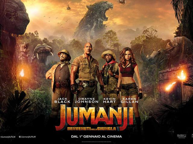 Udine20 vi manda al cinema GRATIS: torna Jumanji – Benvenuti nella jungla – il remake – 12 dicembre 2017