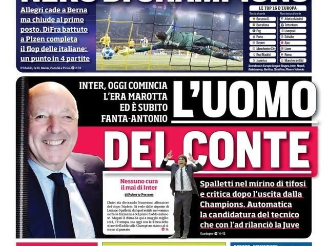 Corriere dello Sport – L'uomo del Conte