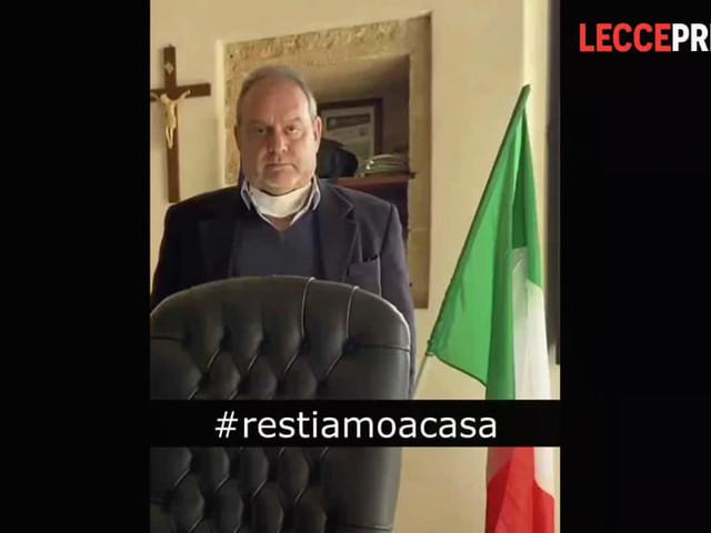 Video   Virus, l'annuncio del sindaco e l'invito a pregare per il concittadino