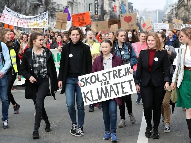 La parola dell'anno è climate strike