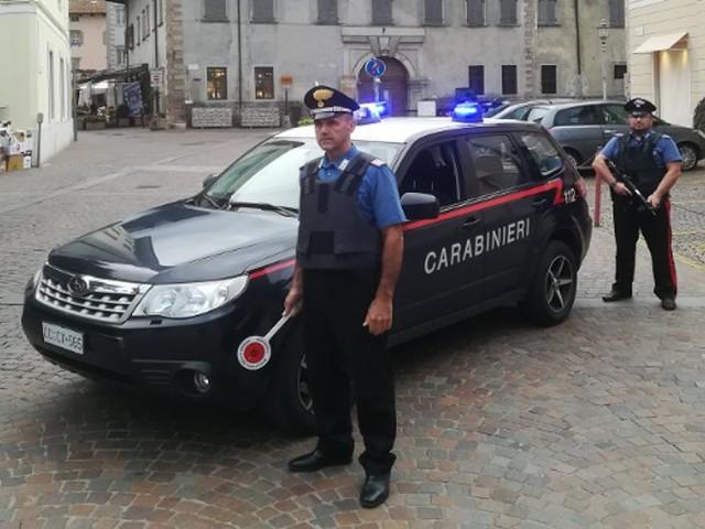 Arco: tenta di ammazzare la sua ex. Arrestato dai Carabinieri