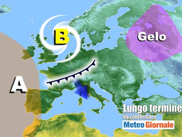 Meteo Italia nel lungo termine, nella morsa del MALTEMPO invernale