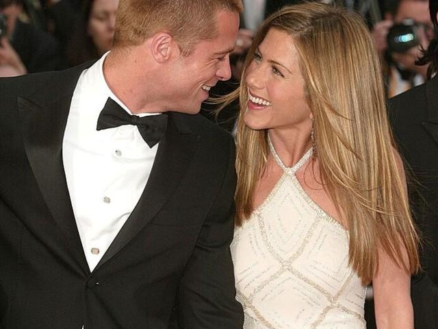 La storia d'amore tra Jennifer Aniston e Brad Pitt