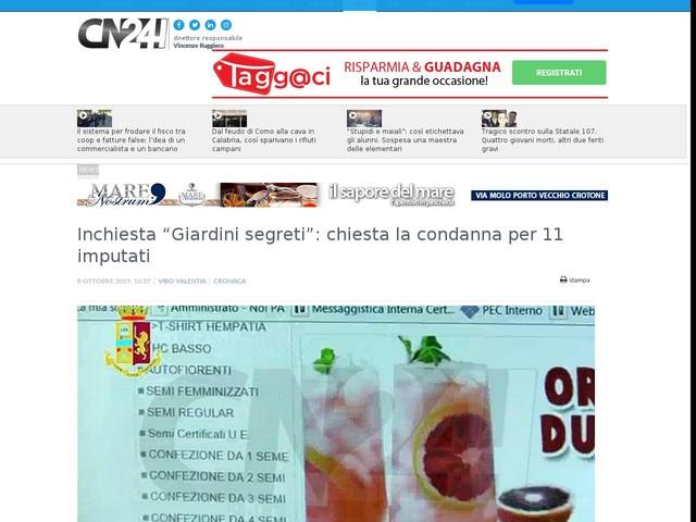 """Inchiesta """"Giardini segreti"""": chiesta la condanna per 11 imputati"""