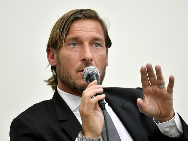 Francesco Totti lavora a un futuro da agente sportivo
