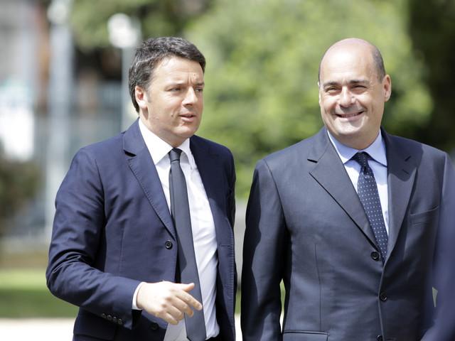 """Zingaretti: """"Spero che Renzi resti nel partito, va evitato lo scisma"""""""