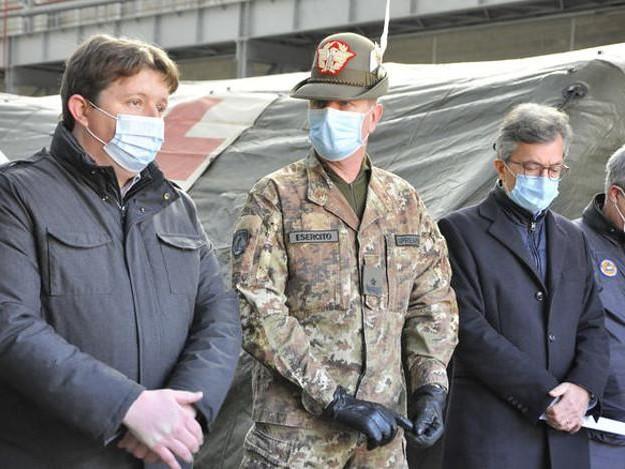 Covid: ospedale da campo ad Aosta pronto venerdì