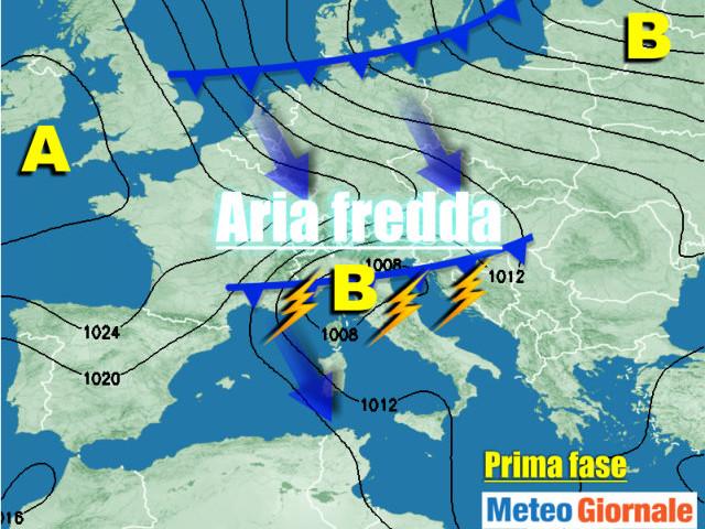 METEO 4-10 OTTOBRE, ancora cambiamenti continui del tempo e più fresco nel week end