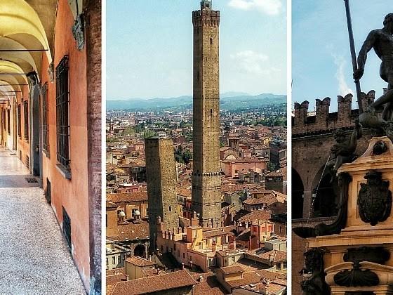 Bologna, cosa vedere in 1/2 giorni | itinerario a piedi