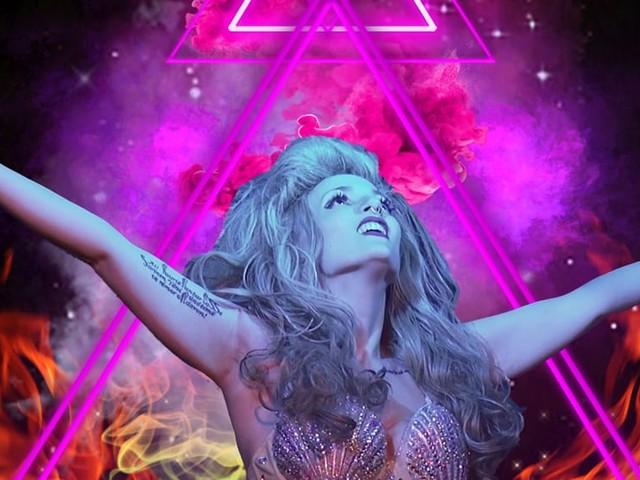 Artpop - Lady Gaga Show a Rainbow Magicland