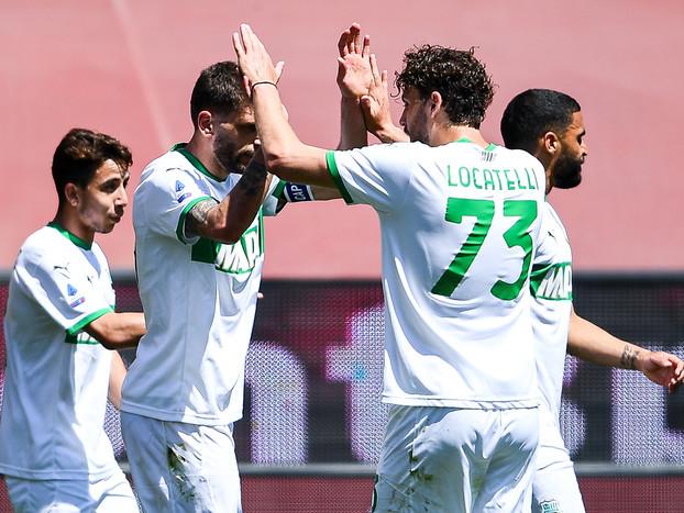 Calcio: Genoa-Sassuolo 1-2