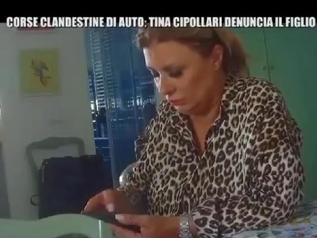 'Le Iene' organizzano uno scherzo a Tina Cipollari coinvolgendo il figlio Mattias Nalli e si finisce… in questura! (Video)
