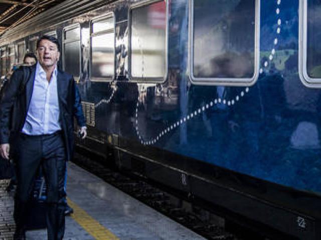 Inizia il viaggio social di Matteo Renzi con il #TrenoPd