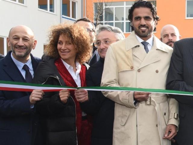 Macerata, taglio del nastro con il Qatar per il nuovo campus scolastico