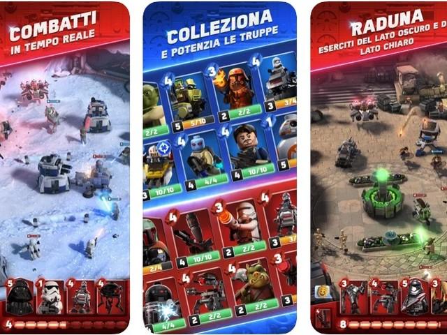 LEGO Star Wars Battles è disponibile su Apple Arcade