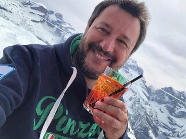 Da Pinzolo Salvini esterna su tutto e tutti
