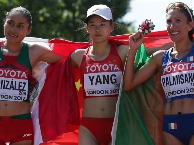 Antonella Palmisano conquista la medaglia di bronzo