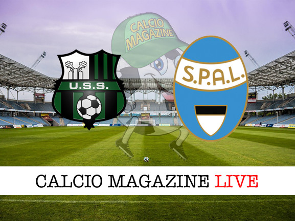 Sassuolo – SPAL: cronaca diretta live, risultato in tempo reale
