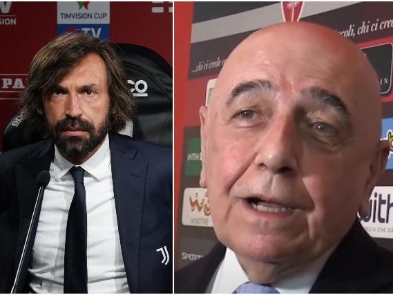 """Galliani, il Signor Bic e la vendetta su Pirlo: """"È come la scuola, c'è la materna e l'università"""""""